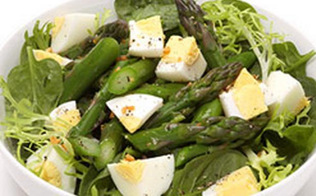 resep salad sehat with asparagus
